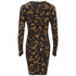 McQ Alexander McQueen Women's Long Sleeve Mini Dress - Tortoises: Image 2