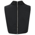 McQ Alexander McQueen Women's Collar Party Top - Black: Image 4