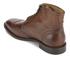 H Shoes by Hudson Men's Greenham Leather Brogue Lace Up Boots - Cognac: Image 4