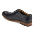 Hudson London Men's Keating Leather Brogue Shoes - Black: Image 4