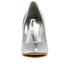 Dune Women's Burst Metallic Court Shoes - Silver: Image 4