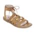 Dune Women's Lorelli Suede Gladiator Sandals - Tan: Image 2