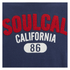 Soul Cal Men's Logo T-Shirt - Navy: Image 3