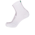 Santini Flag High Profile Coolmax Socks - White: Image 1