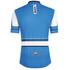 Santini Tau Short Sleeve Jersey - Blue: Image 3