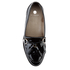 Hudson London Women's Britta Patent Tassle Loafers - Black: Image 3