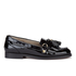 Hudson London Women's Britta Patent Tassle Loafers - Black: Image 1