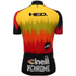 Santini Cinelli Chrome 16 Short Sleeve Jersey - Black/Orange: Image 3