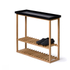 Wireworks Hello Storage Console Table - Black: Image 2