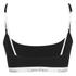 Calvin Klein Women's CK One Logo Bralette - Black: Image 2