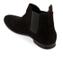 HUGO Men's Pariss Suede Chelsea Boots - Black: Image 4