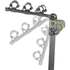 Buzz Rack Moose 3 Bike Tow Ball Carrier - Black: Image 2