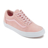 Vans Women's Old Skool Suede/Woven Trainers - Peachskin/True White: Image 2