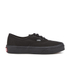 Vans Kids' Authentic Trainers - Black: Image 1