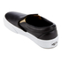 Vans Women's Classic Slip-On Metallic Trainers - Black/Gold: Image 4