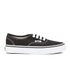 Vans Kids' Authentic Trainers - Black/True White: Image 1