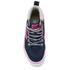 Vans Kids' Sk8-Hi Zip Trainers - Navy/Pink: Image 3
