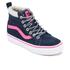 Vans Kids' Sk8-Hi Zip Trainers - Navy/Pink: Image 2