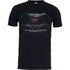DC Comics Batman v Superman Men's Dawn of Justice T-Shirt - Black: Image 1
