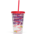 Unicorn Straw Cup - Multi (16oz): Image 2