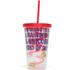 Unicorn Straw Cup - Multi (16oz): Image 2
