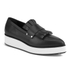 McQ Alexander McQueen Women's Manor Pleated Slip-On Trainers - Black: Image 2