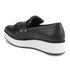 McQ Alexander McQueen Women's Manor Pleated Slip-On Trainers - Black: Image 4