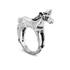Cheap Monday Women's Unicorn Mini Ring - Burnished Silver: Image 2