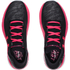 Under Armour Women's SpeedForm Turbulence Reflective Running Shoes - Black/Pink: Image 3
