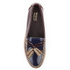 Bass Weejuns Women's Estelle Leather Loafers - Bordo/Navy: Image 3
