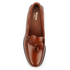 Bass Weejuns Men's Larkin Tassle Leather Loafers - Mid Brown: Image 3