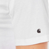 Carhartt Men's Short Sleeve Base T-Shirt - White/Black: Image 5