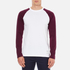 Carhartt Men's Long Sleeve Dodgers T-Shirt - White/Chianti: Image 1