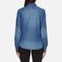 ONLY Women's Denim Shirt - Medium Blue Denim: Image 3