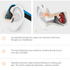 Aftershokz Trekz Titanium Wireless Headphones - Ocean: Image 4