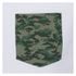 Brave Soul Men's Pulp Camo Pocket T-Shirt - White: Image 3