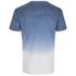 Threadbare Men's Dunbar Dip Dye T-Shirt - Blue: Image 2