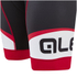 Alé Formula 1.0 Logo Bib Shorts - Black/Red: Image 4