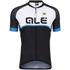Alé Excel Veloce Jersey - Black/Light Blue: Image 1