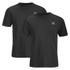Kappa Men's Nico 2 Pack T-Shirts - Black: Image 1