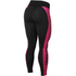 Better Bodies Women's Side Panel Tights - Black/Pink: Image 2