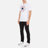 Converse Men's All Star Core Chuck Patch T-Shirt - White: Image 4