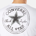 Converse Men's All Star Shield Reflective Tape Star CP T-Shirt - White: Image 6