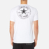 Converse Men's All Star Shield Reflective Tape Star CP T-Shirt - White: Image 3