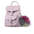 Grafea Women's Valerie Fur Pom Backpack - Lilac: Image 2