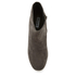 Dune Women's Pebble Mid Heeled Suede Boots - Grey: Image 3