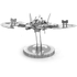 1989 Batwing Metal Earth Construction Kit: Image 4