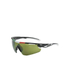 Salice 012 ITA Sports Sunglasses - Black/Infrared: Image 1