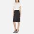 Carven Women's Full Zip Pencil Skirt - Black: Image 4