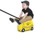 Trunki Tony Taxi Ride-On Suitcase - Yellow: Image 3